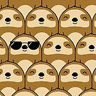Sloth Army by cartoonbeing
