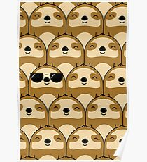Sloth Army Poster