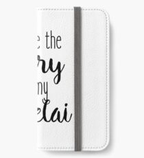 Gilmore Girls - You're the Rory to my Lorelai iPhone Wallet/Case/Skin