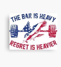 Lienzo El Bar Is Heavy Regret es más pesado - RWB