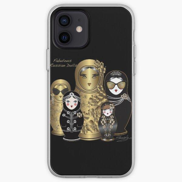 Fabuleuses poupées russes Coque souple iPhone