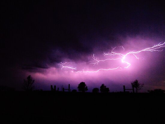 purple lighting  by clytn