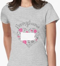 Pennsylvania - Always In My Heart (Bold Color Version) T-Shirt