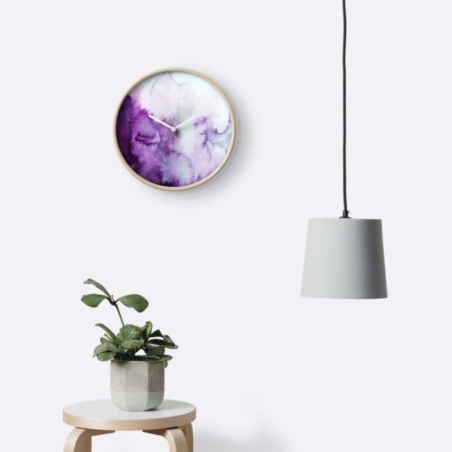 Purple ink  by Ness Flett