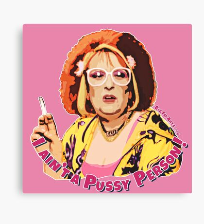 Pussy Person (Nipple Pink) Canvas Print