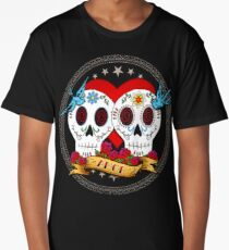 Love Skulls Long T-Shirt