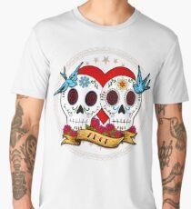 Love Skulls Men's Premium T-Shirt