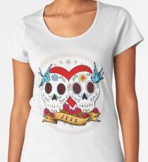 Love Skulls Women's Premium T-Shirt