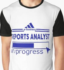 REPORTS ANALYST Graphic T-Shirt