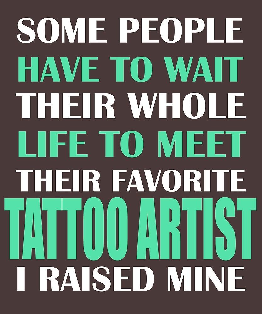 Tattoo Artist  by AlwaysAwesome