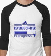 REVENUE OFFICER Men's Baseball ¾ T-Shirt