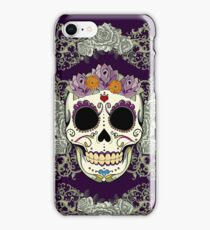 Vintage Skull and Flowers iPhone Case/Skin