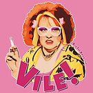 Vile! (Nipple Pink) by BigFatArts