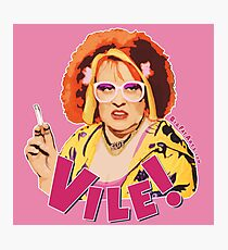Vile! (Nipple Pink) Photographic Print