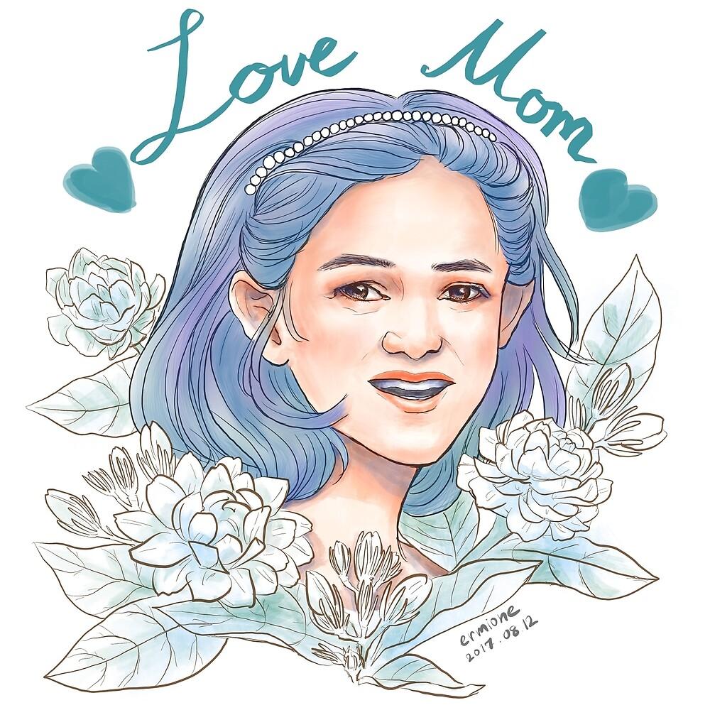 Love Mom by ermione-wu