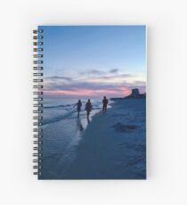 Beach Beauty Spiral Notebook