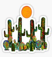 Über die Wüste Sticker