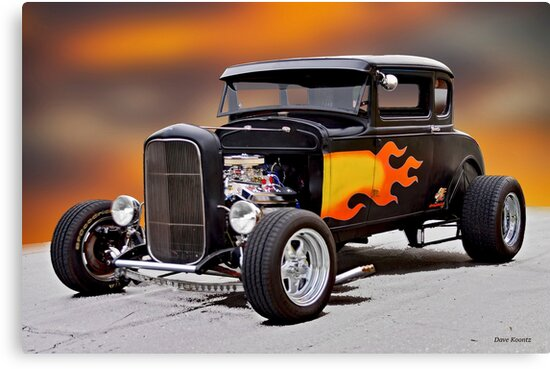 1930 Ford 'Who's your Daddy-O' Coupe by DaveKoontz