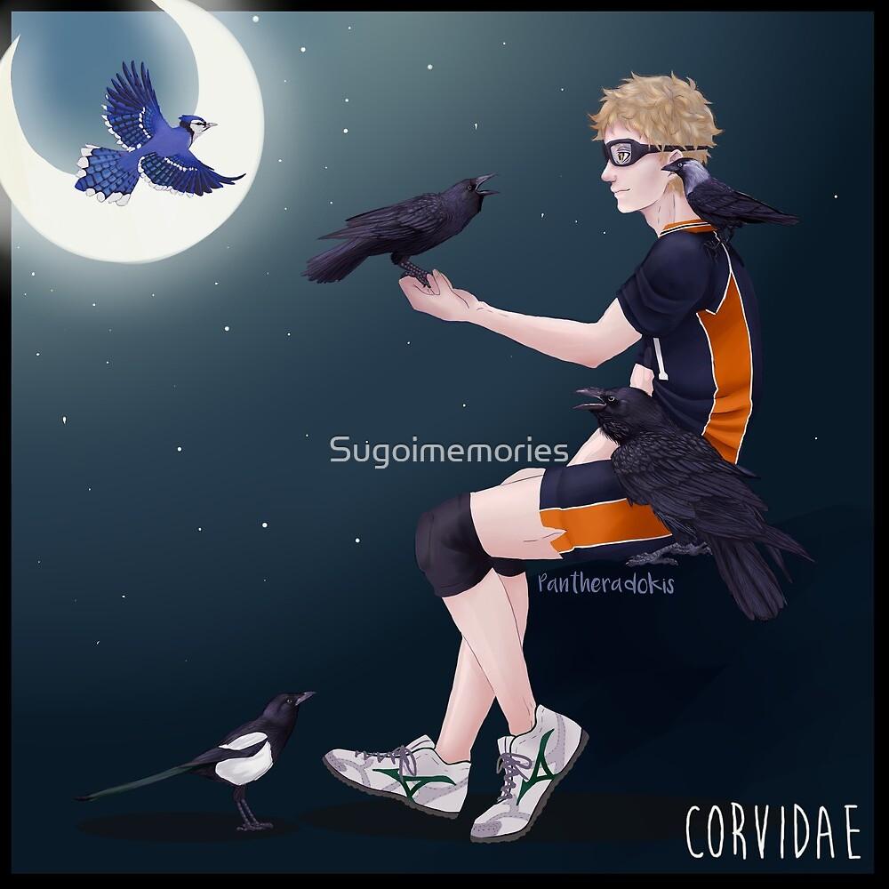 Corvidae by Sugoimemories