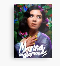Marina & The Diamonds Metal Print