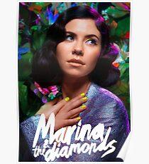 Marina & Die Diamanten Poster