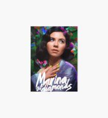 Marina & The Diamonds Art Board