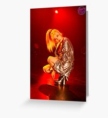 GIRLS GENERATION HOLIDAY NIGHT SUNNY Greeting Card