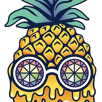 Bass Face Pineapple by mollykpw11