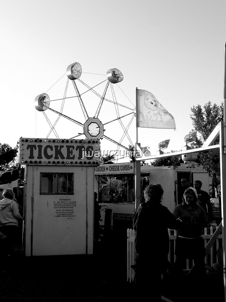Tickets BW by jwawrzyniak