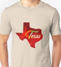 Texas - Watercolor T-Shirt