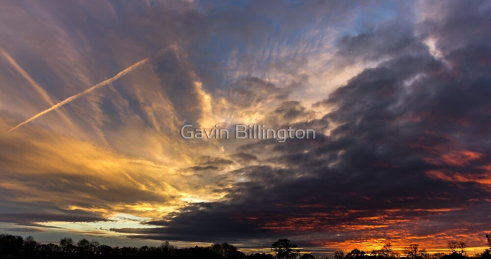 Glorious Lancashire Skies by Gavin Billington