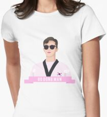 GO DONG MAN Women's Fitted T-Shirt