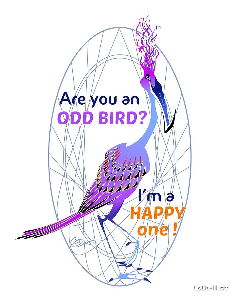 Odd Bird 01 by CoDa-Illustr