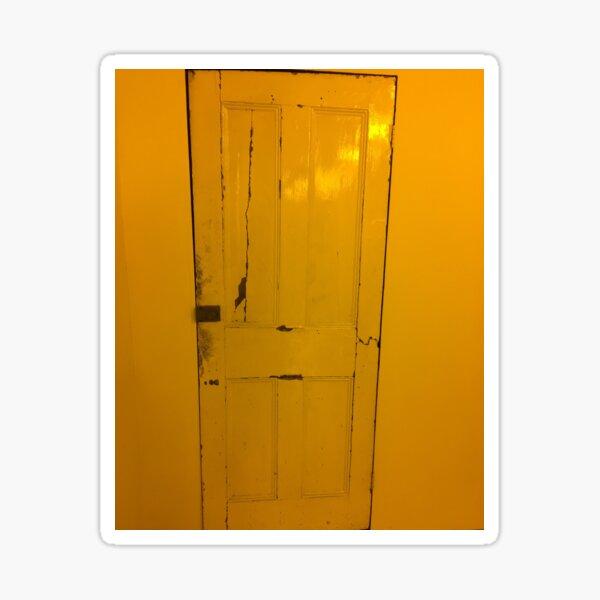 Door leading where Sticker