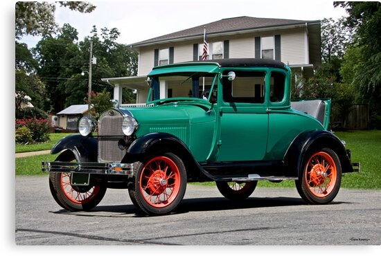 1929 Ford 'Rumble Seat' Coupe II by DaveKoontz