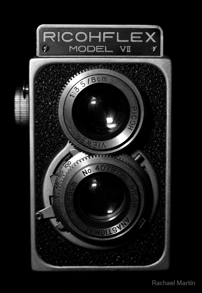 Vintage Camera Close-up by Rachael Martin
