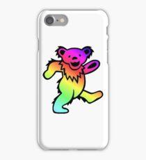 Grateful Dead Dancing Bear Rainbow iPhone Case/Skin