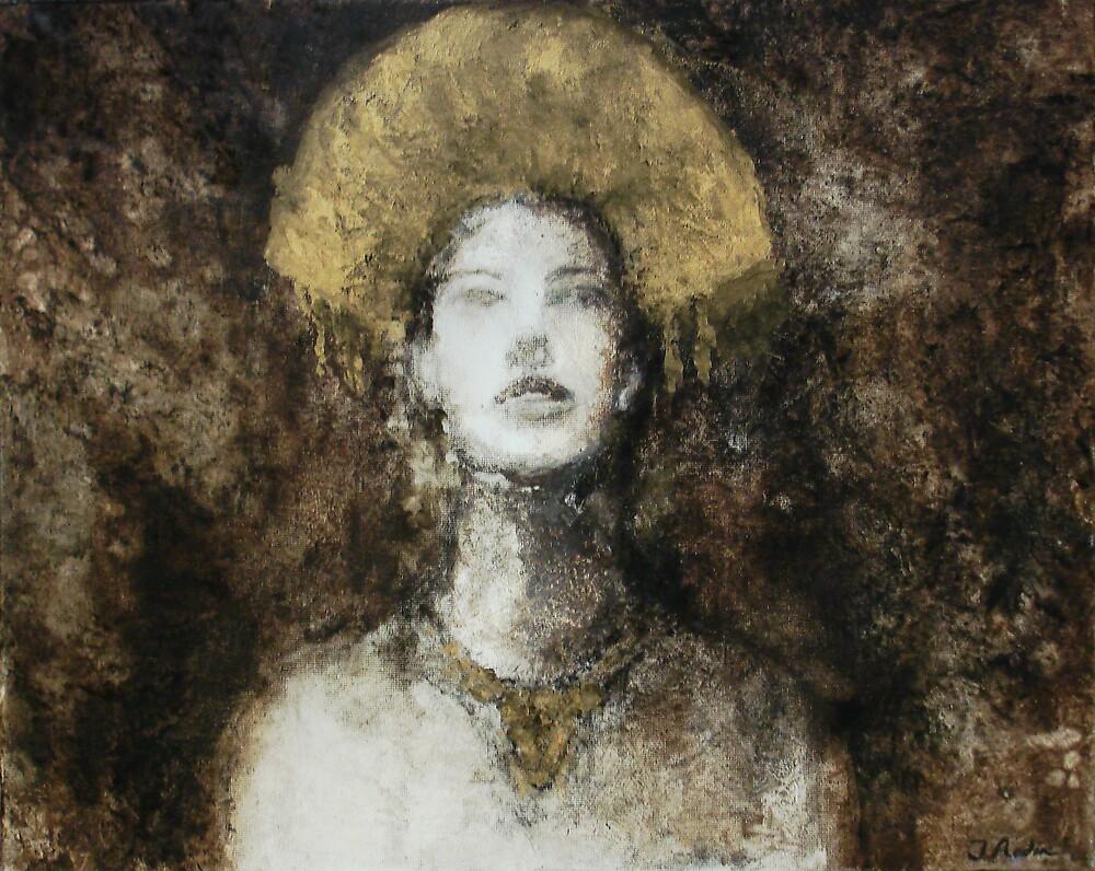 Gold Headdress  by Jonathan Radin