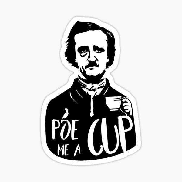 Poe Me a Cup Sticker