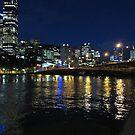 Melbourne City Lights by lezvee