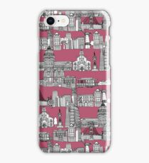 San Francisco toile rose iPhone Case/Skin