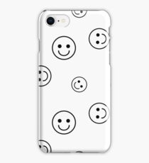 Vector seamless pattern with smileys. For easy making seamless pattern just drag all group into swatches bar, and use it for filling any contours. iPhone Case/Skin