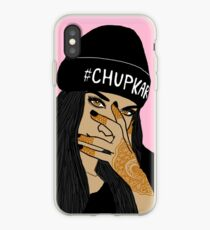 Chup kar Beanie Girl  iPhone Case