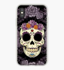 Vintage Skull and Roses iPhone Case
