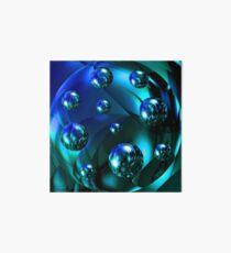 bubbles shine Art Board