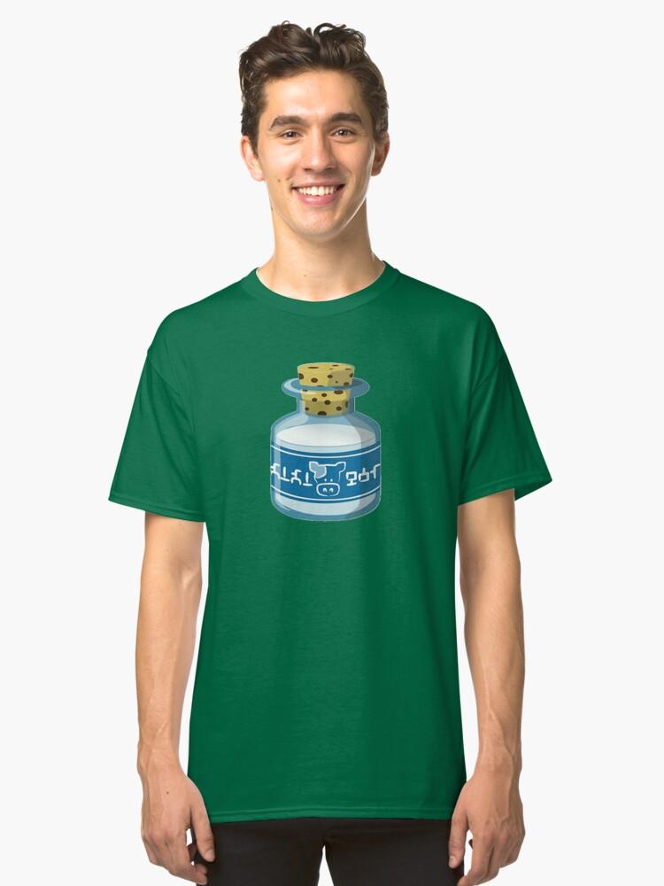 Lon Lon Milk bottle T-Shirt Classic T-Shirt Front