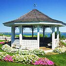 Gazebo In Chatham, Cape Cod by daphsam