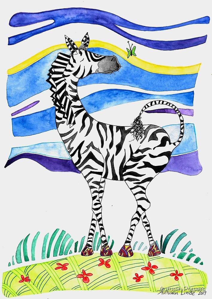 A Zebra Dreams by Autumn Linde