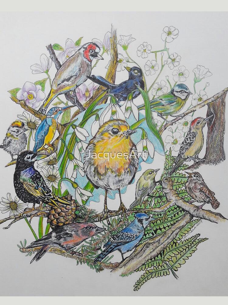British Birds by JacquesArt