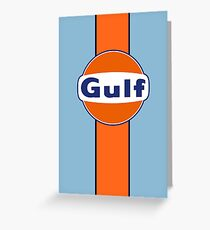 Gulf stripe Greeting Card